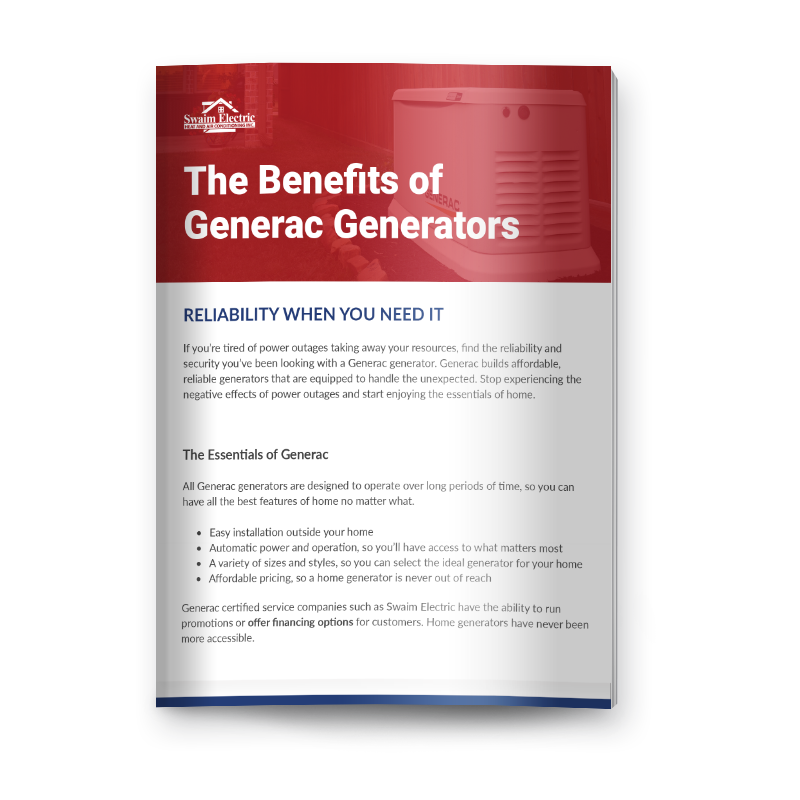 The Benefits of Generac Generators Mockup